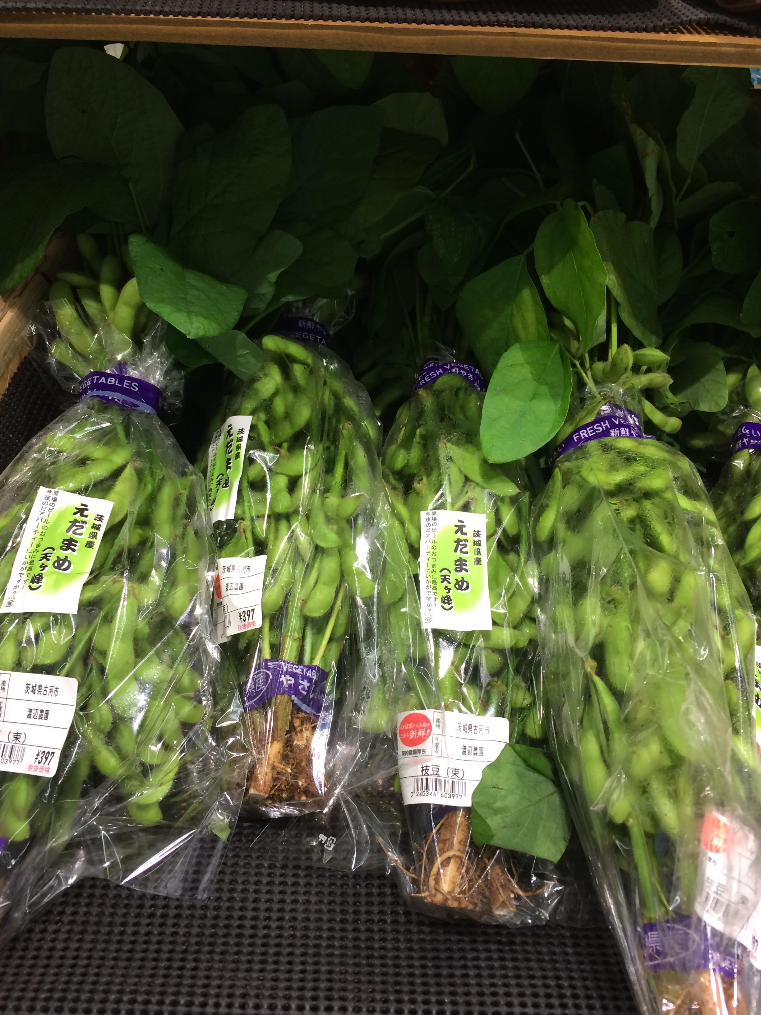 Một số loại rau quả mùa hè ở Nhật